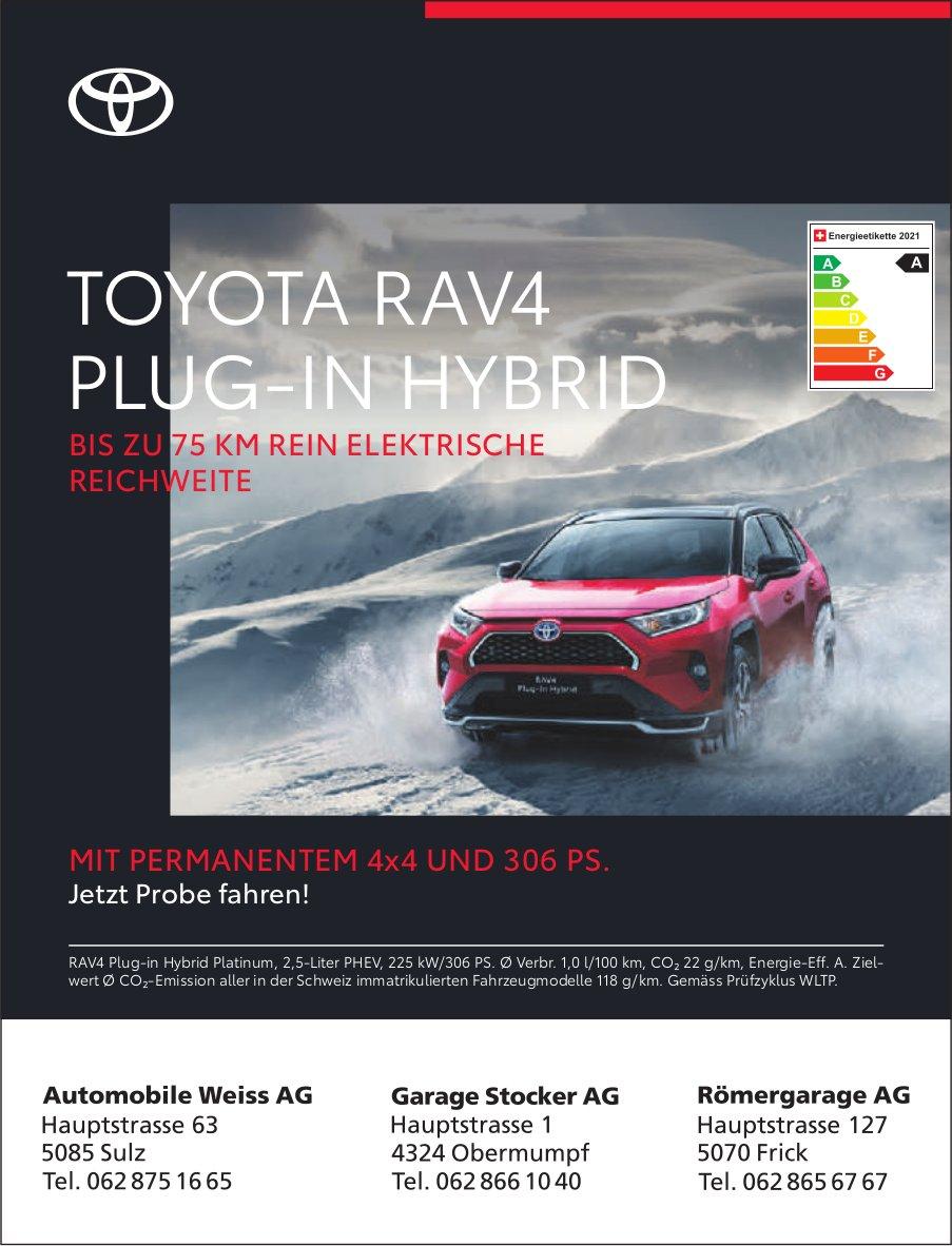 Toyota RAV4 Plug-in Hybrid - Jetzt Probe fahren!