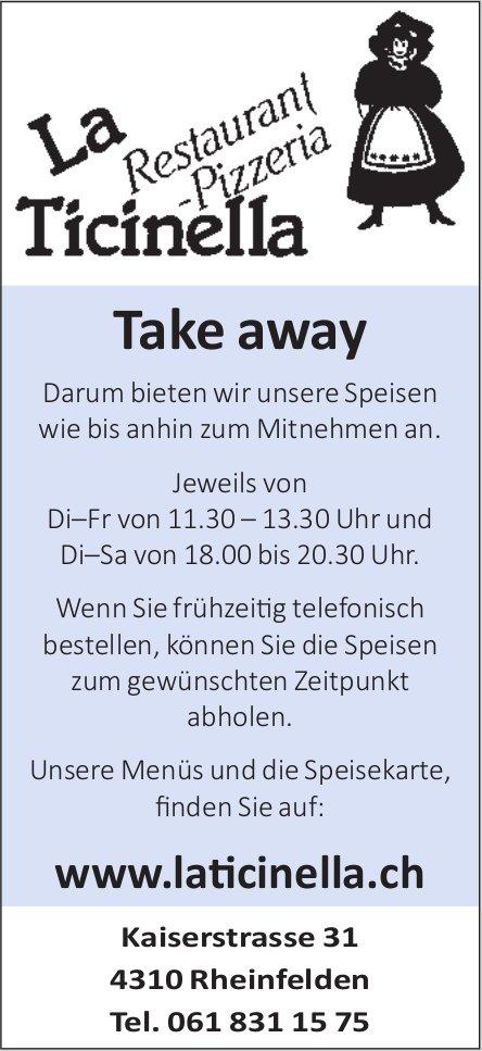 La Ticinella, Rheinfelden - Take away