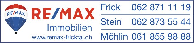 RE/MAX Immobilien - Frick/ Möhlin/ Stein