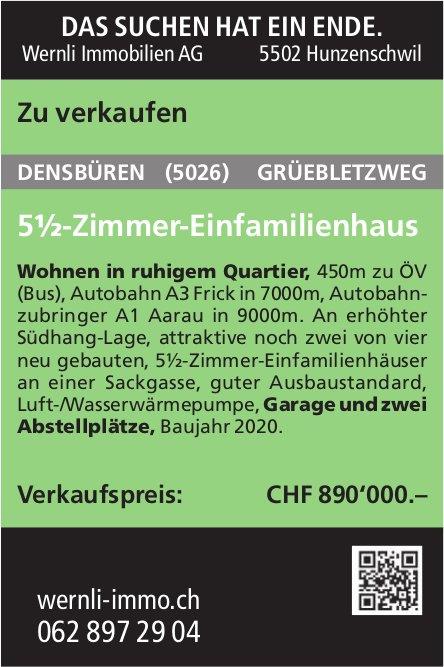 5 -Zimmer-Einfamilienhaus, Densbüren, zu verkaufen