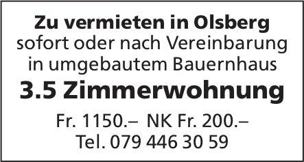 3.5 Zimmerwohnung, Olsberg, zu vermieten
