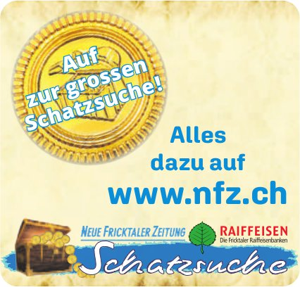 NFZ / Raiffeisen, Auf zur grossen Schatzsuche!