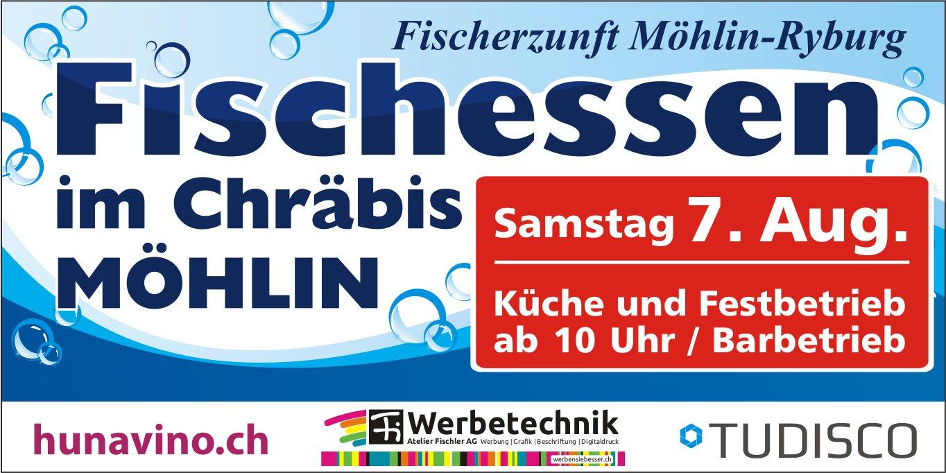Fischessen im Chräbis Möhlin, 7. August