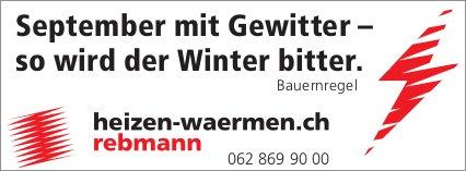 Rebmann - September mit Gewitter – so wird der Winter bitter. Bauernregel