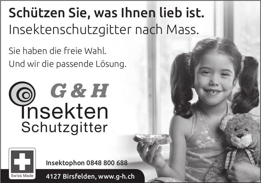G & H, Birsfelden - Schützen Sie, was Ihnen lieb ist.
