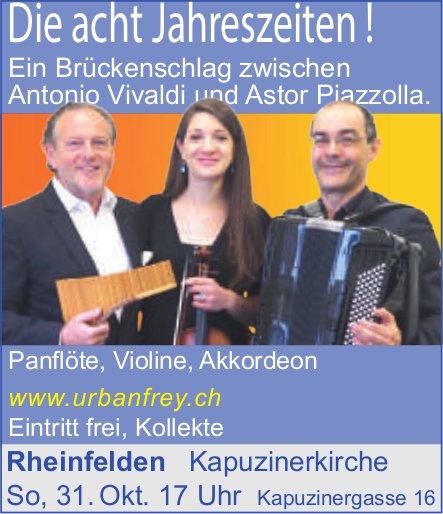 Die acht Jahreszeiten !, 31. Oktober, Kapuzinerkirche, Rheinfelden