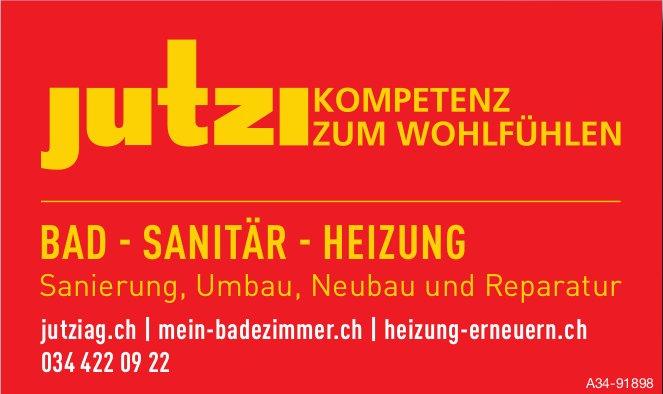 Jutzi AG - Kompeten zum Wohlfühlen