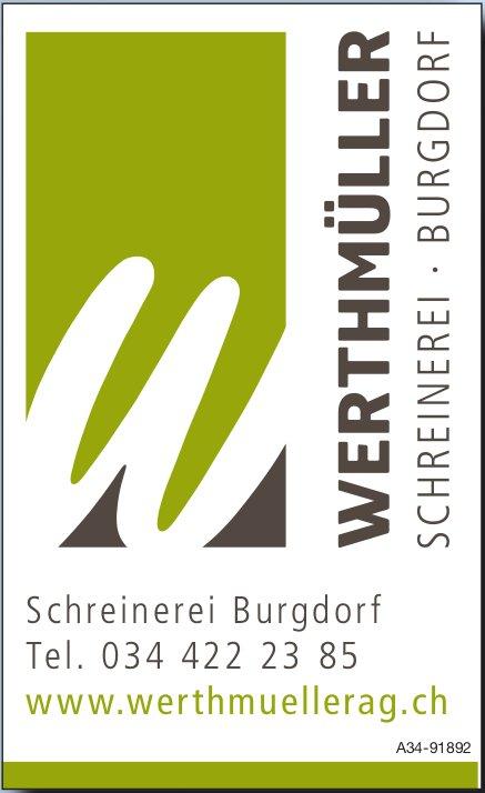 Werthmueller AG, Burgdorf - Schreinerei