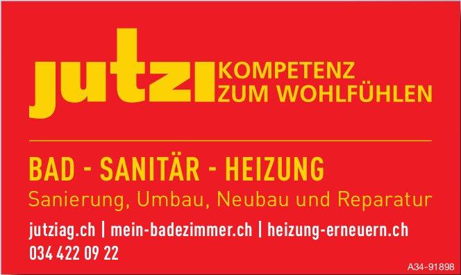 Jutzi AG - Bad-Sanitär-Heizung: Kompetenz zum wohlfühlen