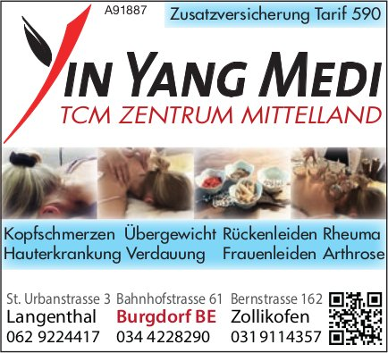 Yin Yang Medi, Burgdorf - TCM Zentrum Mittelland