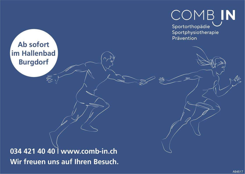 Comb In, Burgdorf - Ab sofort im Hallenbad Burgdorf