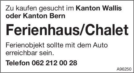 Ferienhaus/Chalet im Kanton Wallis oder Kanton Bern, zu kaufen gesucht