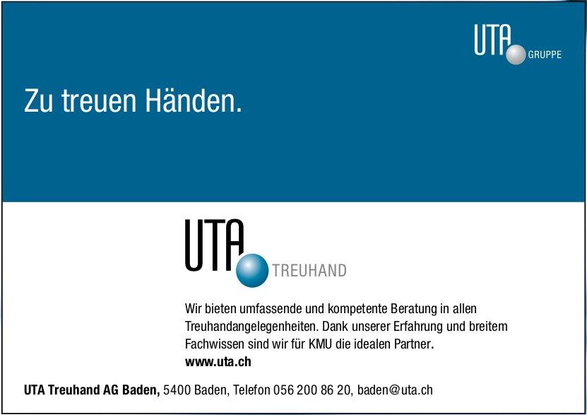 Zu treuen Händen, UTA Treuhand AG Baden