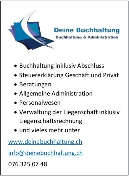 Deine Buchhaltung - Buchhaltung & Administration