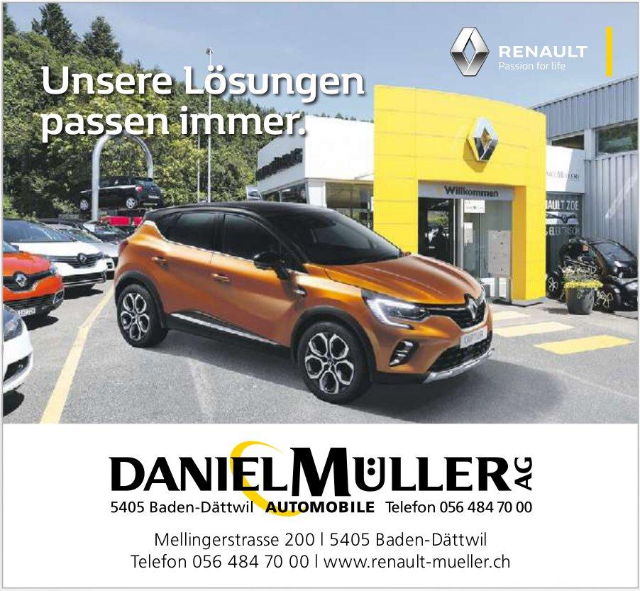 Daniel Müller AG - Unsere Lösungen passen immer.