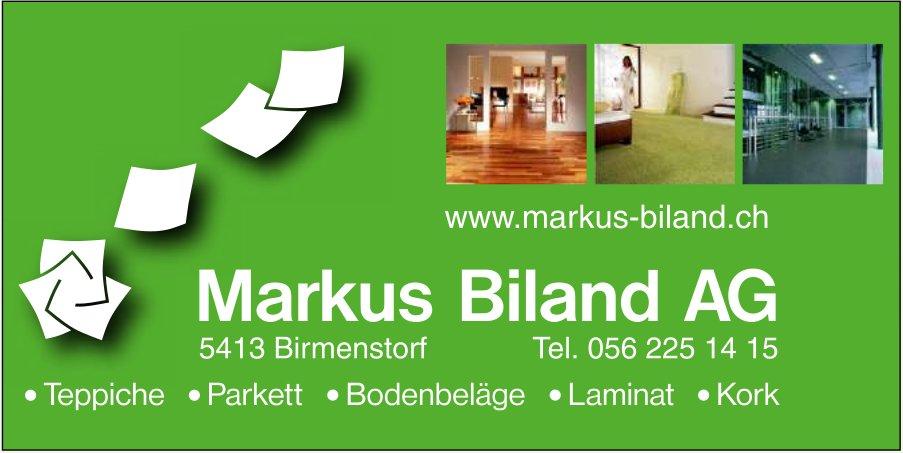 Markus Biland AG, -Teppiche, Parkett, Bodenbeläge, Laminat, Kork