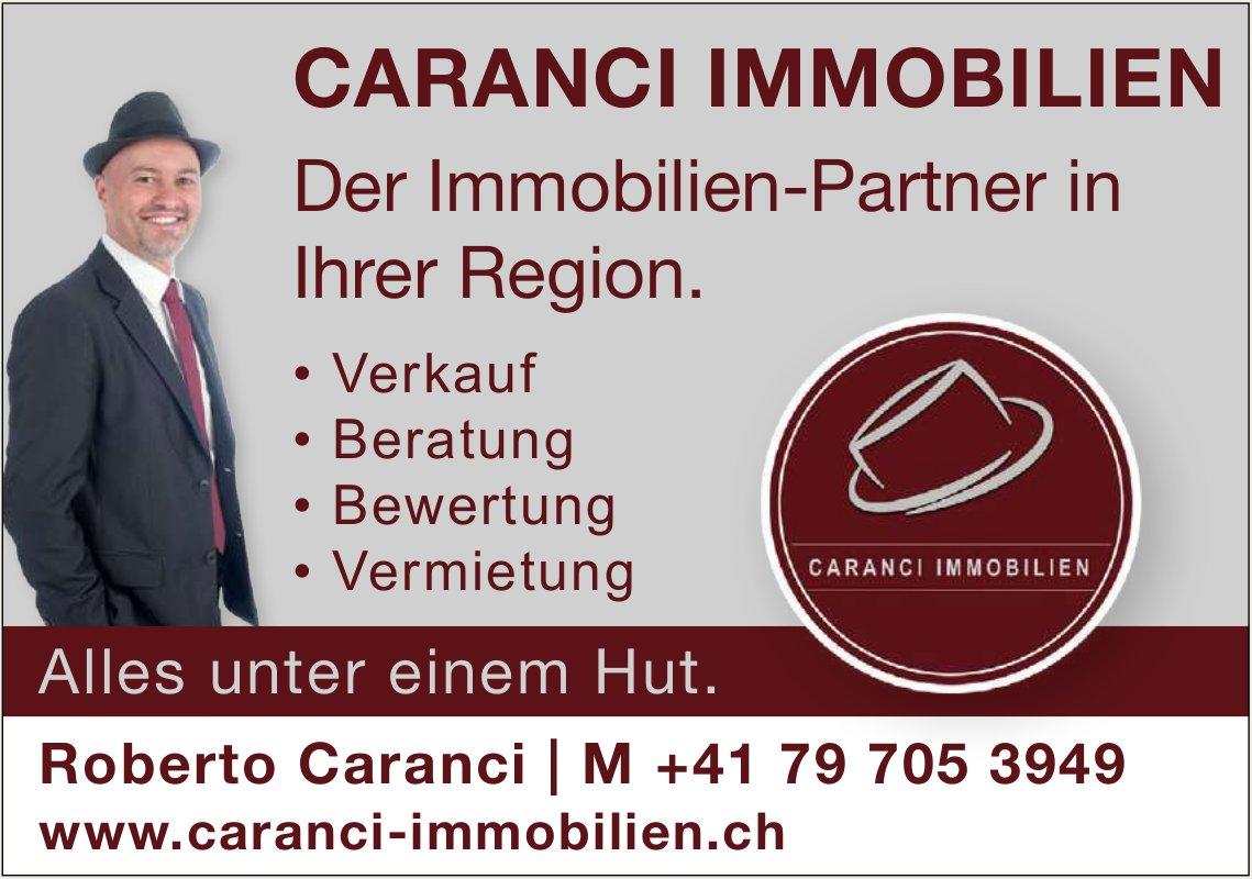 CARANCI IMMOBILIEN - Der Immobilien-Partner in Ihrer Region.