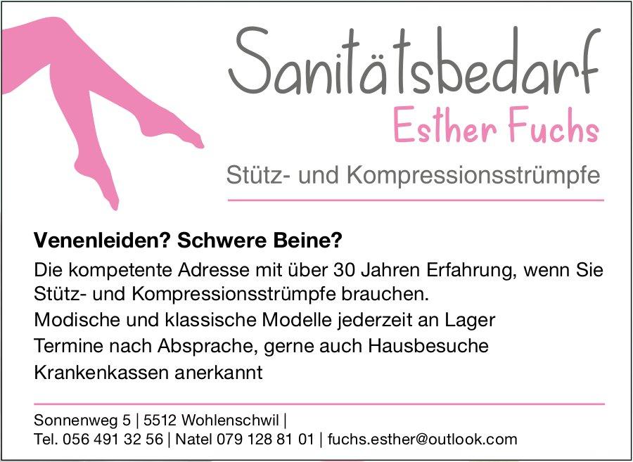 Sanitätsbedarf Esther Fuchs - Stütz- und Kompressionsstrümpfe