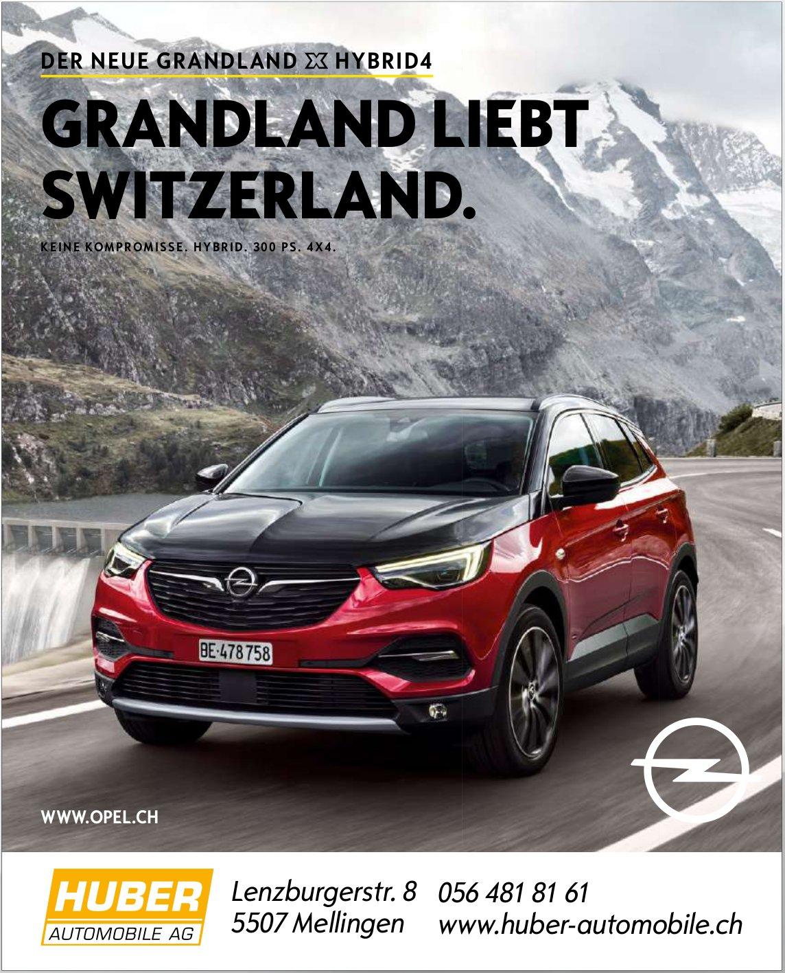 HUBER AUTOMOBILE AG - DER NEUE OPEL GRANDLAND HYBRID4
