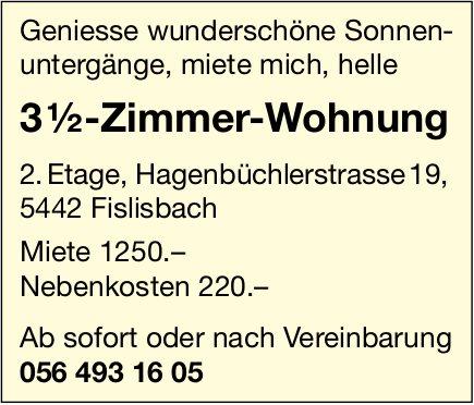 3.5 Zimmer-Wohnung,  Fislisbach,  zu vermieten