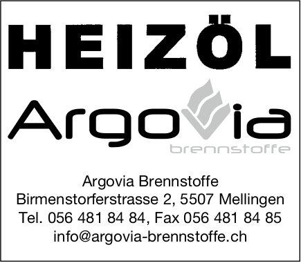 Argovia Brennstoffe,  Mellingen - Heizöl