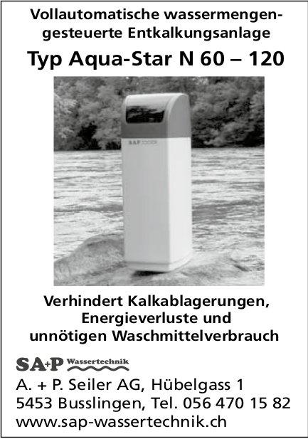 A. +P. Seiler AG, Busslingen - Vollautomatische wassermengengesteuerte Entkalkungsanlage