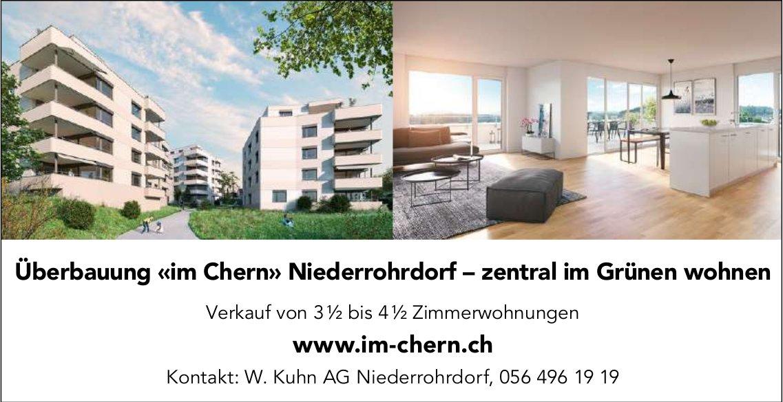 3.5 bis 4.5 Zimmer-Wohnungen, Niederrohrdorf,  zu verkaufen
