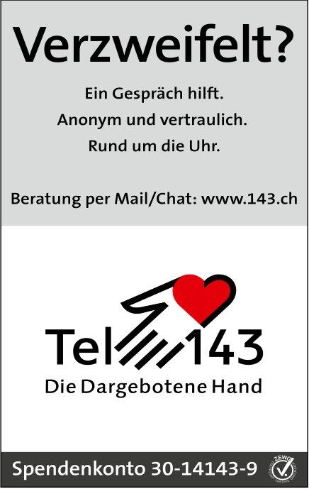 Tel 143, Verzweifelt?