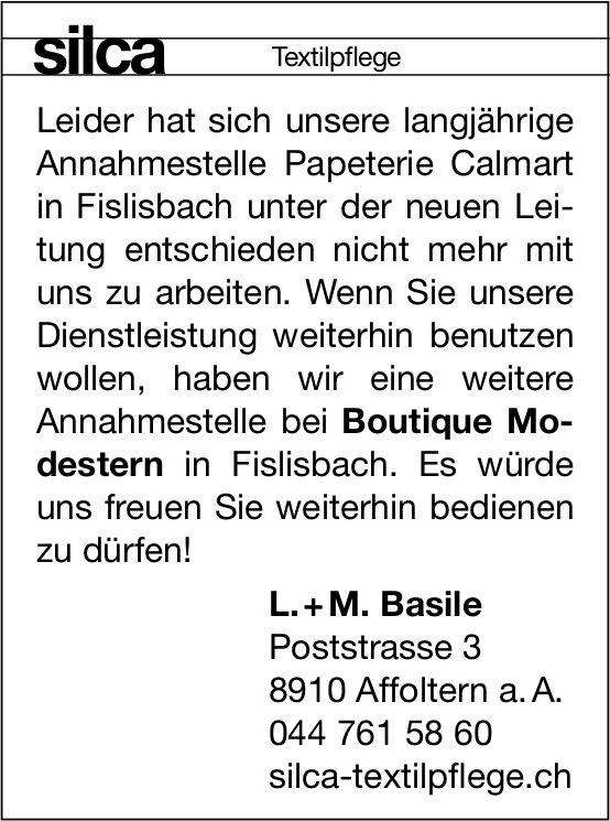 Silca Textilpflege, Affoltern a. A.