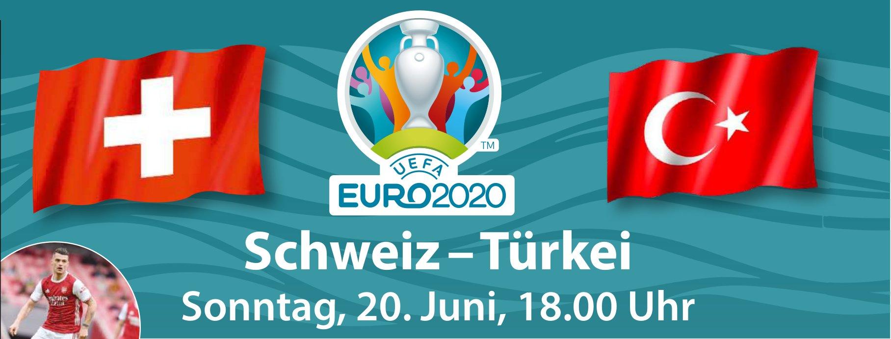 Euro 2020: Schweiz – Türkei, 20. Juni