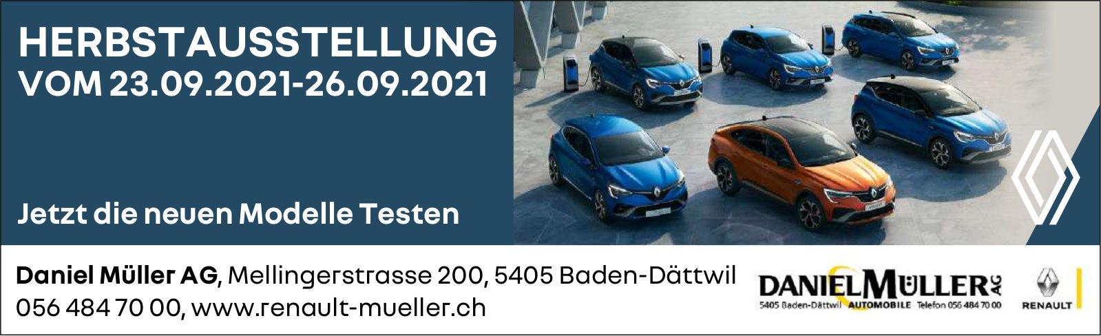 Herbstausstellung, 23. September, Daniel Müller AG, Baden-Dättwil
