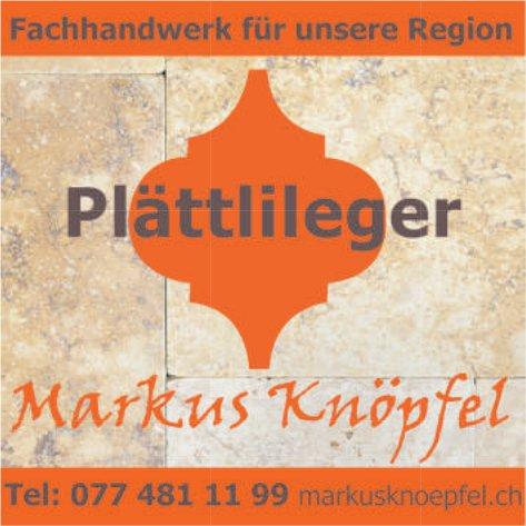 Markus Knöpfel, Fachhandwerk für unsere Region