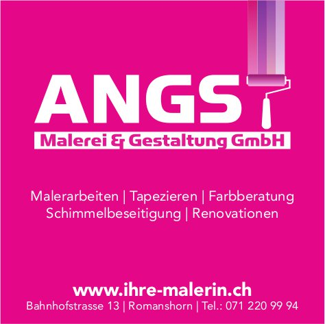 Malerei & Gestaltung GmbH, Romanshorn - Malerarbeiten Tapezieren Farbberatung Schimmelbeseitigung Renovationen