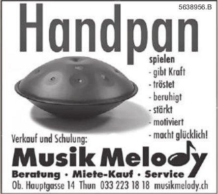 Musik Melody, Thun - Handpan