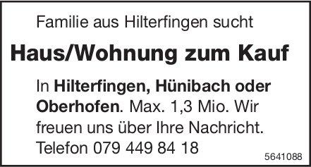 Haus/Wohnung in Hilterfingen, Hünibach oder Oberhofen zu kaufen gesucht
