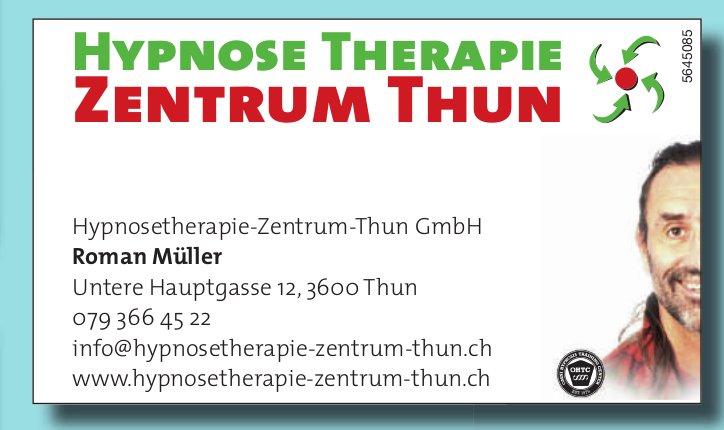 Hypnosetherapie-Zentrum-Thun GmbH, Thun - Hypnosetherapie Zentrum Thun