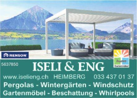 ISELI & ENG - Pergolas, Wintergärten, Windschutz usw.