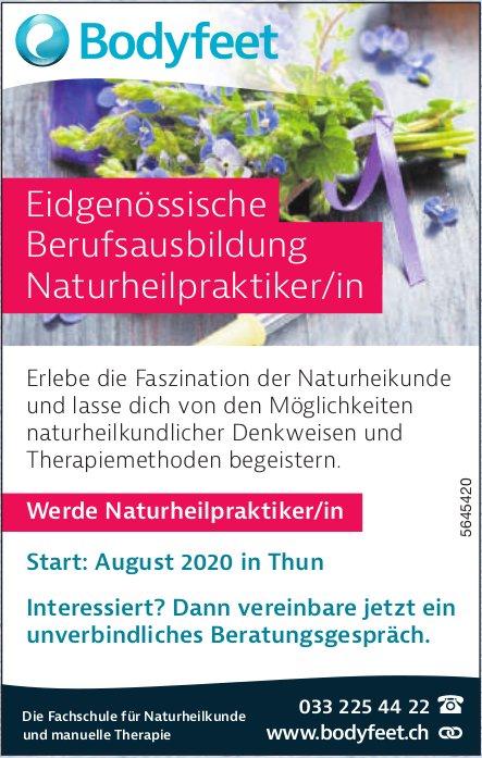 Bodyfeet, Thun - Eidgenössische Berufsausbildung Naturheilpraktiker/in