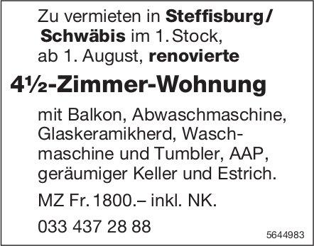 4½-Zimmer-Wohnung, Steffisburg/Schwäbis, zu vermieten