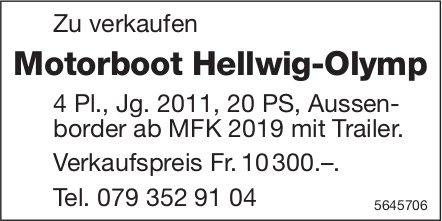 Motorboot Hellwig-Olymp zu verkaufen