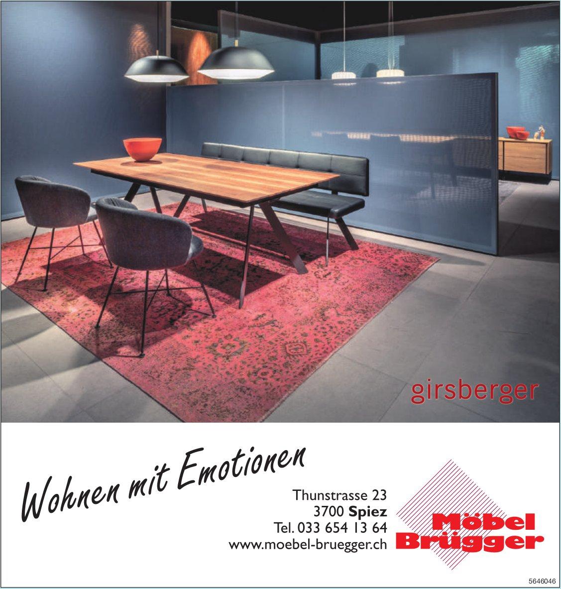 Möbel Brügger, Spiez - Wohnen mit Emotionen