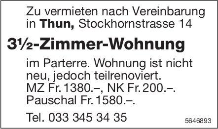 3.5-Zimmer-Wohnung, Thun, zu vermieten
