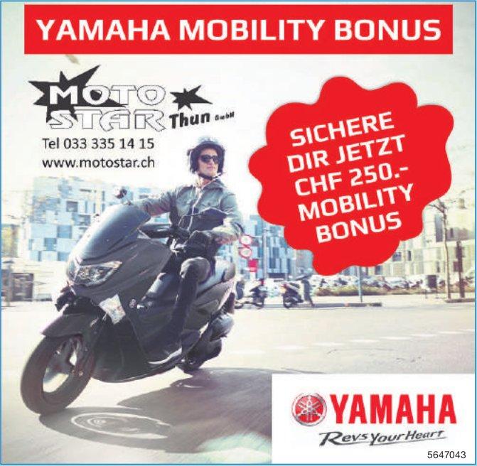 Moto Star Thun GmbH - Yamaha Mobility Bonus