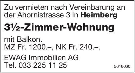 3.5-Zimmer-Wohnung, Heimberg, zu vermieten