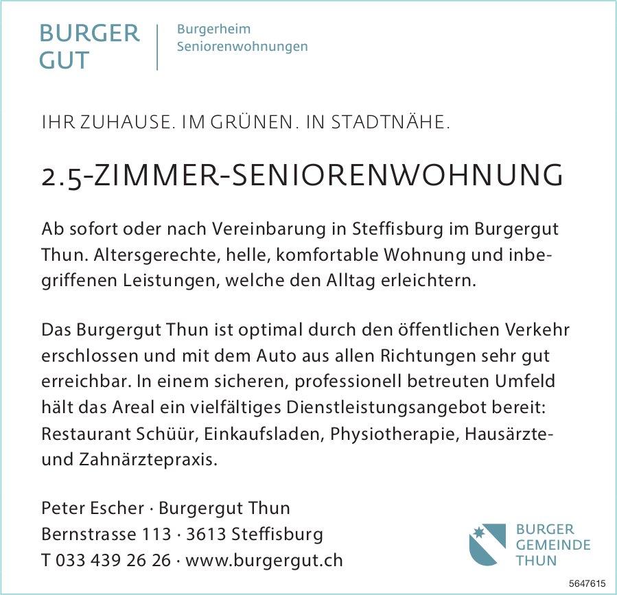 2.5-Zimmer-Seniorenwohnung, Steffisburg, zu vermieten