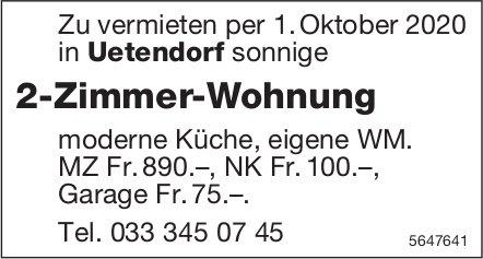 2-Zimmer-Wohnung, Uetendorf, zu vermieten