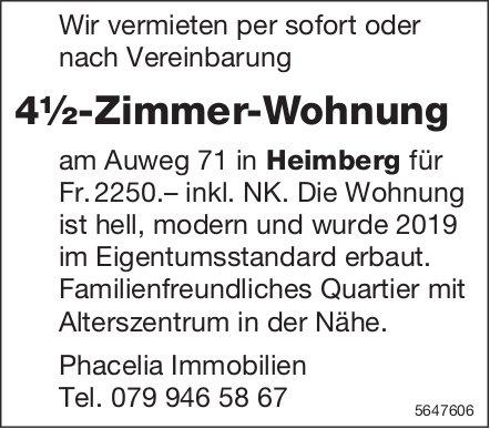 4½-Zimmer-Wohnung, Heimberg, zu vermieten