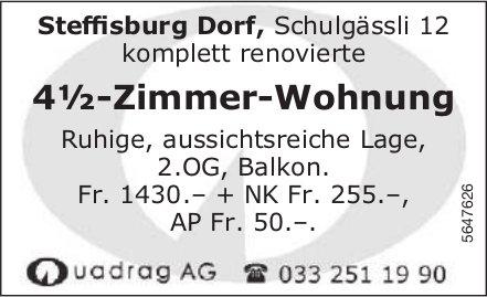 4½-Zimmer-Wohnung, Steffisburg Dorf,  zu vermieten