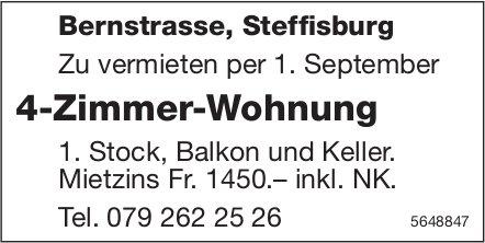 4-Zimmer-Wohnung, Steffisburg, zu vermieten