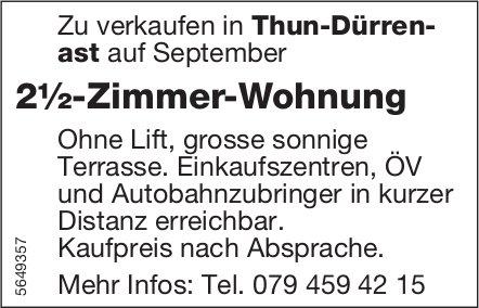2½-Zimmer-Wohnung, Thun-Dürrenast, zu verkaufen